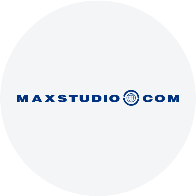 MaxStudios.com Collection Logo.