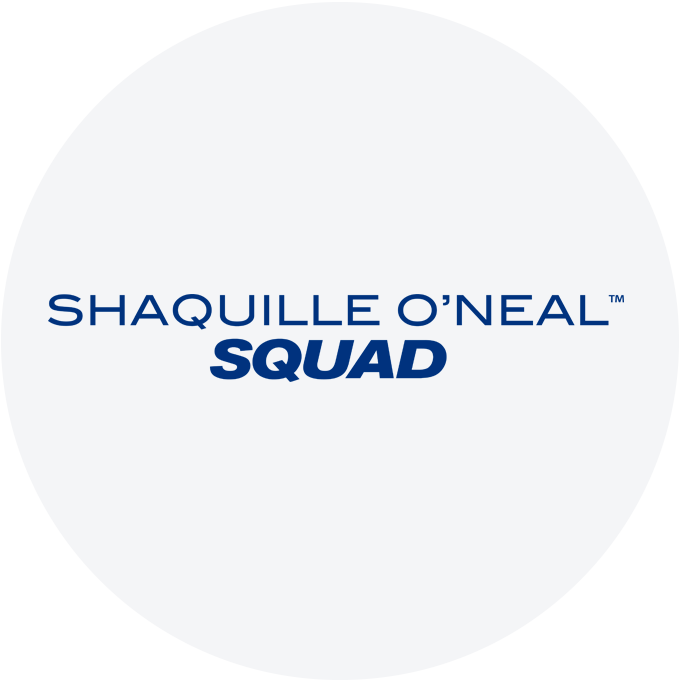SHAQUILLE O'NEAL SQUAD LOGO.