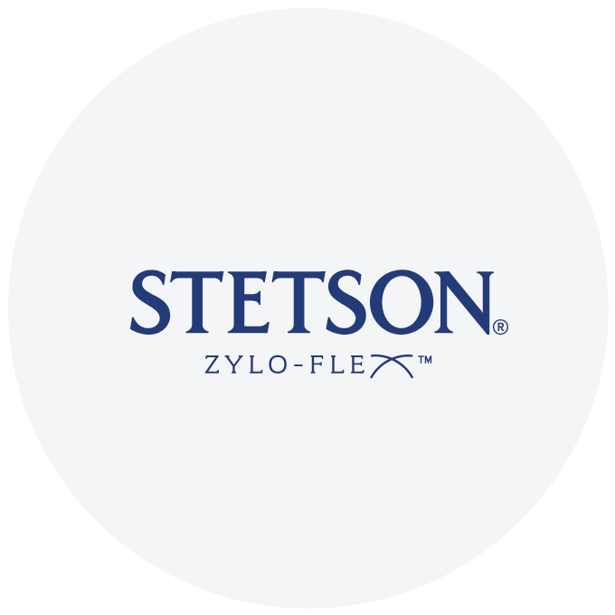 Stetson Zylo-Flex Collection Logo.